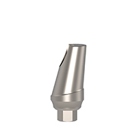 4970281 Concave Angulated Esthetic Cemented Abutments 15°, 1 mm x 10 mm, AGM-102-1C