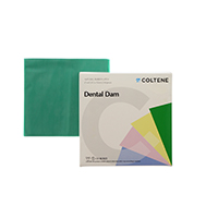 "8440681 Hygenic Dental Dam 6"" x 6"", Thin, Green, 360/Box, H04246"