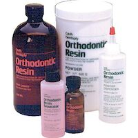 8133091 Orthodontic Resin Liquid, Clear, 430 ml, 651003
