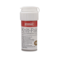 "8780191 Knit-Pak Knitted Gingival Retraction Cord 00, Brown, 100"", 9007552"