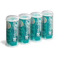 9532491 Microbrush Tube Series Ultrafine, Teal, 100/Tube, 4/Pkg, MUT400