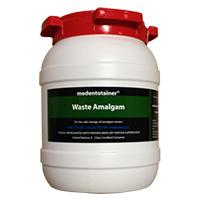 8950002 Medentotainer Small Waste Amalgam, 1.5 Gallon, BOUS1901