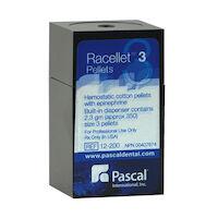 8762002 Racellets 0.55 mg Epinephrine HCI, Size 3, 350/Pkg., 12-200