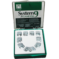 8444002 Hygenic System 9 Clamp-Pak Winged Set, H02701