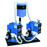 4455002 Whirlwind Liquid Ring Vacuum Pump 2 x 1 H.P., 4 Users, 230V, VPL4D2