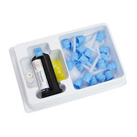 8890102 Core Paste Syringe Kit, Dual-Cure, Enamel, 030645100