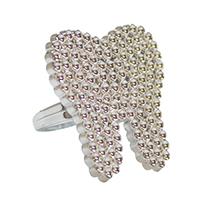 3314102 Silver Tooth Rings Rings, 144/Pkg., S7455