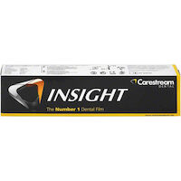 8334202 Insight Dental Film Size 1 Anterior, Paper, IP-12 Double Film, 100/Pkg, 8055402