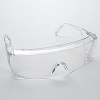 9506302 Eyesavers Clear Frame, Clear Lens, 17S