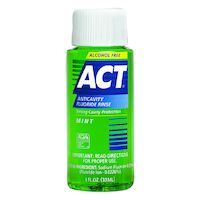 8520402 ACT Fluoride Rinse, Mint, 1 oz., 9420
