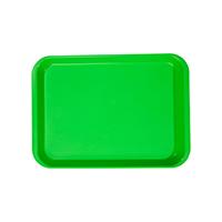 9514502 B-Lok Flat Trays Vibrant Green, Flat Tray, 20Z401P