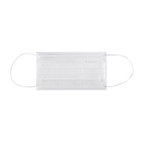 4952012 Monoart Face Masks Protection 3 White, 50/Box, 217118