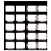 9333112 EZ-Tab Gray Plastic Series 20BW#2, 100/Pkg., 30-4567