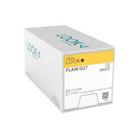 "3971212 Look Plain Gut Sutures 5-0, C3, 18"", 12/Pkg., 596B"