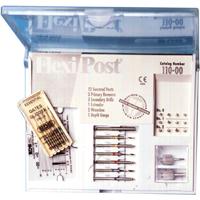 9530512 Flexi-Posts Standard Kits Stainless Steel, Size 3, Green, 10/Pkg., 120-03