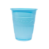 5250612 Plastic Cups Plastic Drinking Cups,1000/Case,Blue,27703