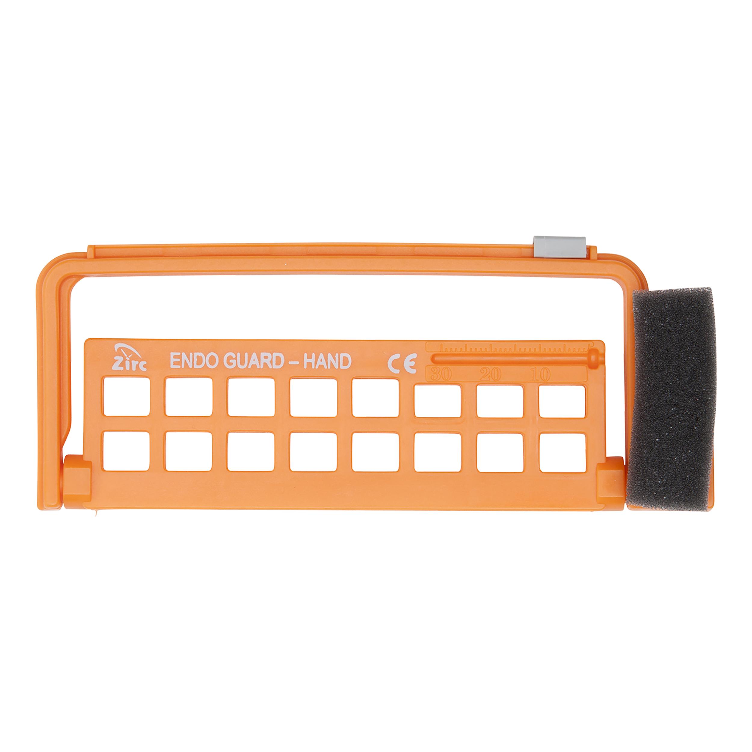 9519812 Steri-Endo Guard Vibrant Orange, Hand, 50Z450Q