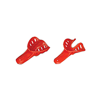 2174022 Excellent-Colors Disposable Impression Trays #1, Child Small Upper, Red, 50/Bag, ITO-1U-50