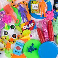 3310222 Treasure Toy Chest Value Toy Refill, 100/Pkg., E141R