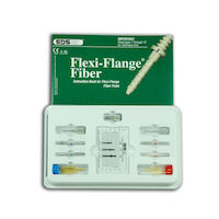 9541622 Flexi-Flange Fiber and Flexi-Post Fiber Flexi-Flange Fiber Intro Kit, Size 1/2, 2410-01