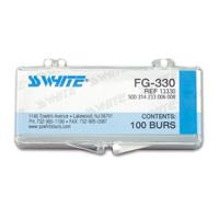 8900722 Carbide Burs FG 100/Pkg. Round, 4, 100/Pkg., 13004