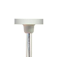 9430922 3 Step Ceramic Finish and Polish System Wheel 12.0, Fine, HP Shank, 6/Box
