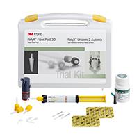 8670032 RelyX Fiber Post 3D Post & Core Build-Up Kit, 56960
