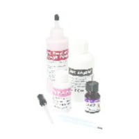9333032 Jet Repair Acrylic Pink Fibered, Jet Powder, 4 oz., 1220-FP