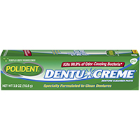 0074032 Polident Creme, 3.9 oz., 24/Case, 09215