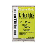 8551132 K-Flex Files #55, 25 mm, 6/Pkg., 15162