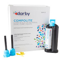 9509132 Compolite Core Build-Up Material White, 25 ml, Cartridge