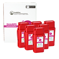 3170732 Sharps Recovery Dental Containers 1 Quart, 6/Box, 3876