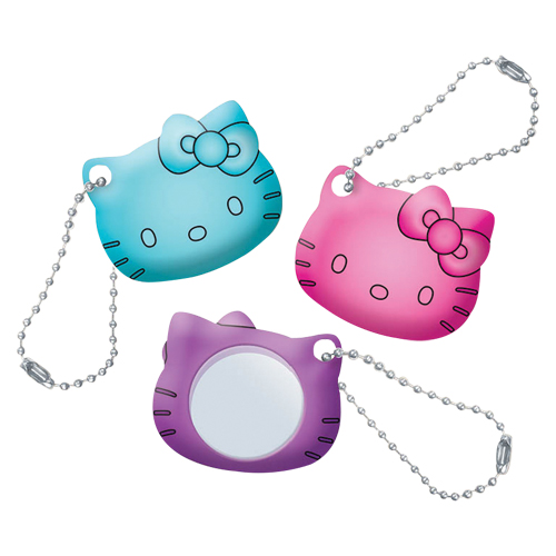 3310832 Hello Kitty Mirror Key Chains Key Chains, 24/Pkg., JV346