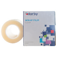 "9530042 Wrap Film 4"" X 6"", Clear, 1200 Feet/Roll"