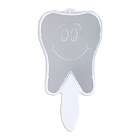 3310142 Tooth Hand Mirror Smile Tooth Mirror, Each