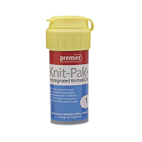 """8780242 Knit-Pak Plus Impregnated Knitted Retraction Cord Size 1, Blue, 100"""", 9007654"""