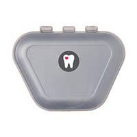 9538242 Imprinted Denture Box Gray, 24/Pkg., 30P800I