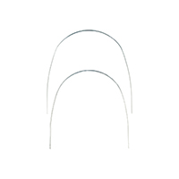 "0908342 TruForce Stainless Steel Archwires Rectangle, Lower, .016"" x .022"", 10/Pkg., 8000-207"
