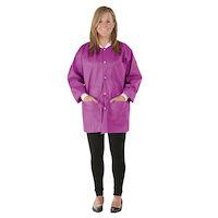 9520842 SafeWear Hipster Jackets Medium, Poppy Pink, 12/Pkg., 8116B