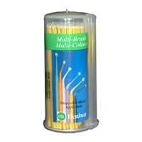 3992052 Multi-Brush Multi-Colors Yellow, Economy, 600/Pkg, 929605