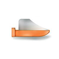 8390152 FenderWedges Small, Orange, 30/Box, TSOR-M