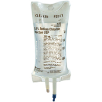 0063152 0.9% Sodium Chloride Injection Bag 500 ml, 2B1323Q