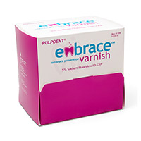 8790252 Embrace Varnish 0.4 ml, 200/Box, FV200
