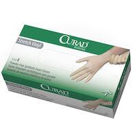 5039252 CURAD Powder-Free Vinyl Exam Gloves Medium,150/Box,CUR9225