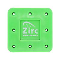 9514552 Magnetic Bur Blocks 8-Hole, Neon Green, 50Z400P