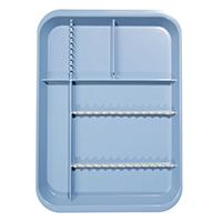 9521752 B-Lok Divided Setup Trays Blue, 20Z451B
