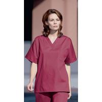 3501852 Scrub Shirts Unisex Large, Navy, 78705