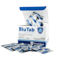 9534062 BluTab Each Tablet Treats 2 Liters, 50/Box, BT20