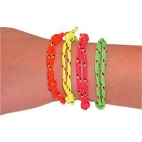 3313162 Tied Friendship Bracelets Bracelets, Assorted, 144/Pkg., E115T