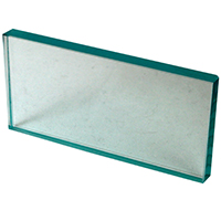 "9514162 Glass Mixing Slab 6"" x 3"" x ½"", Glass"